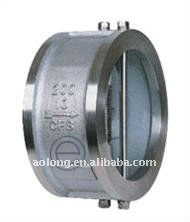 Dual disc swing check valve