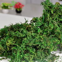 Factory cheap price artificial wall decorative green moss