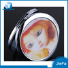 Hot Sell Promotional Cosmetic pocket metal makeup mirror