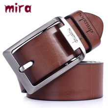 Commercial strap male genuine leather fashionable casual wide cowhide belt pin buckle pure sb's belt
