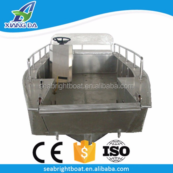 China Factory Custom Design Welded Landing Craft Aluminum Pilot Boat for Sale