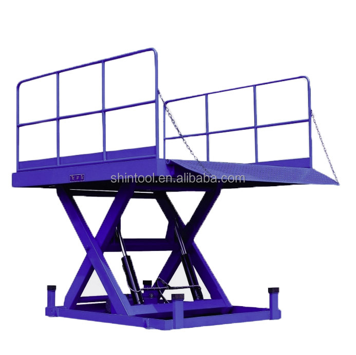9.0 ton Fixed loading platform lifts SJG9.0-1.8 (Customizable)