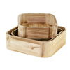 High quality burning color cheap wooden crates wholesale