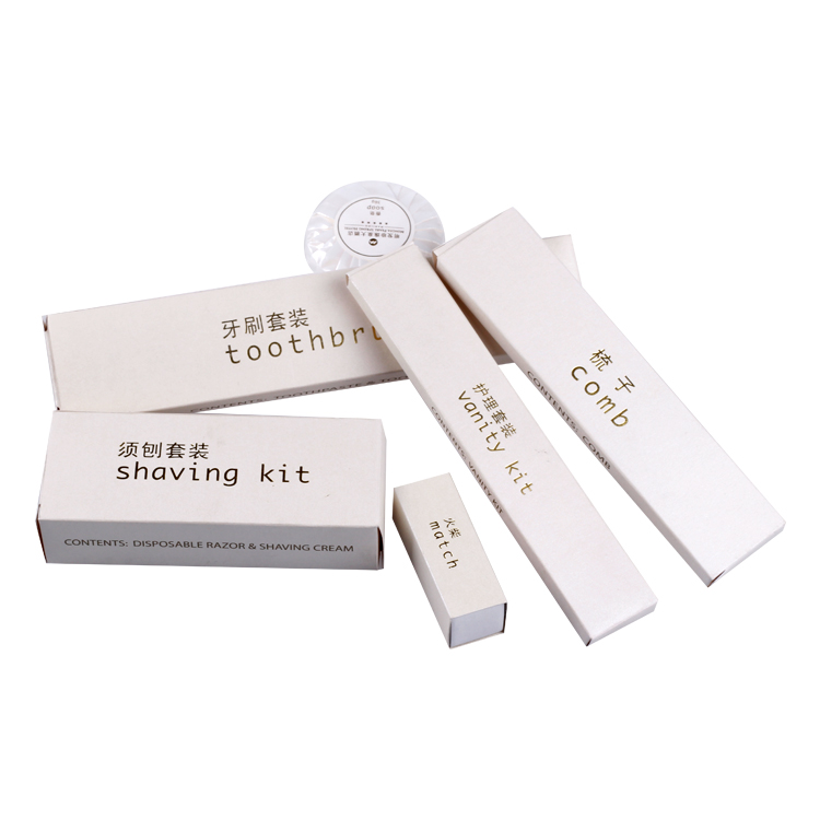 Special design Disposable hotel toiletries wholesale/hotel amenity products