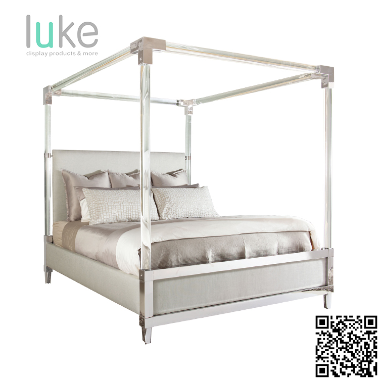 Beautiful wholesale acrylic bed frame