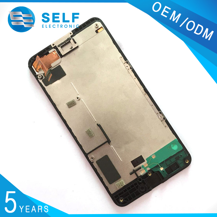 high qulity black lcd display digitizer for nokia lumia 630 N630 lcd + touch screen assembly