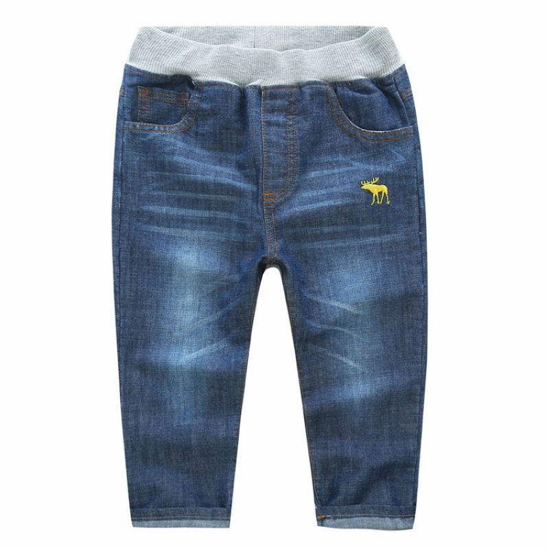 Boys () U.S. Polo Assn.(R) pull on denim jeans with an elastic waist, an inner adjustable waist for the perfect fit, stretch denim material, 5 pocket styling and a straight leg with a See More Pants.