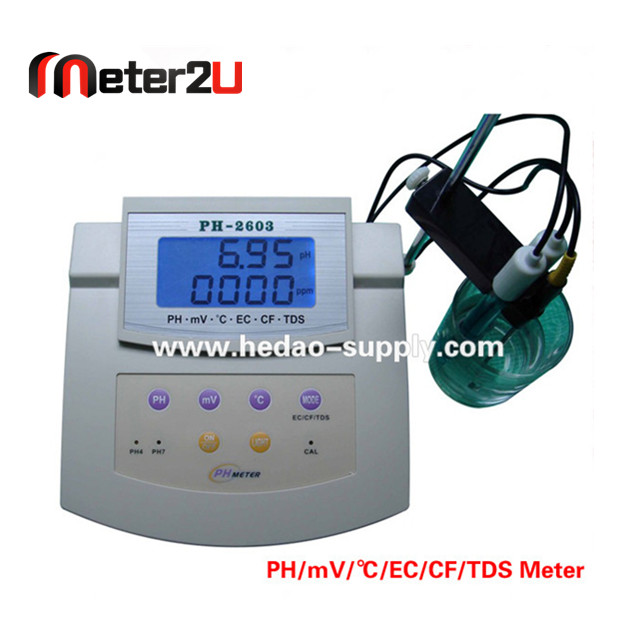 Wholesale pool water tester PH/EC/TDS Controller Meter PH-2603