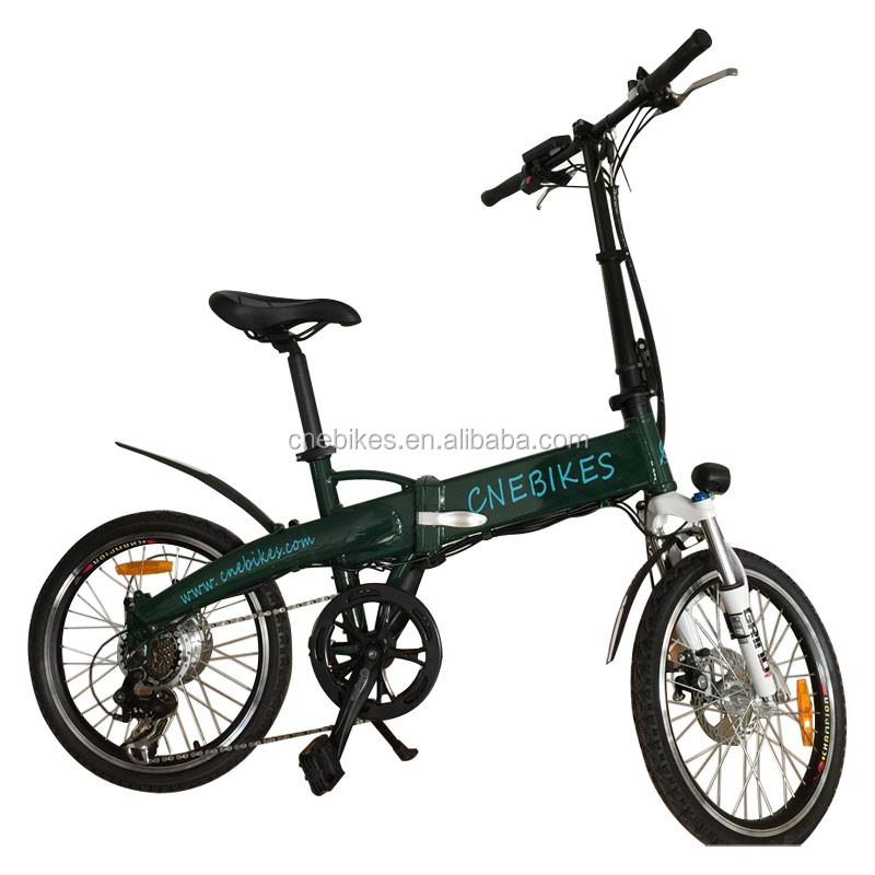 20'' foldable electric bike/min electric bike/singe speed folding ebike