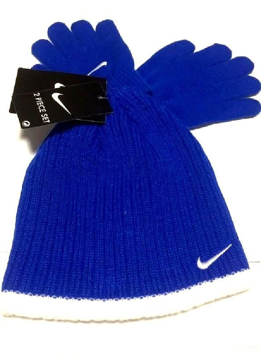 7b1ffaaed51 Buy Nike Boys Rib Knit Hat and Glove Set Size   Youth 8 20 in Cheap ...