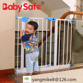 Babysafe Child Baby Safety Door Fence Guardrail Stair Automatic Fence  Protect Kids