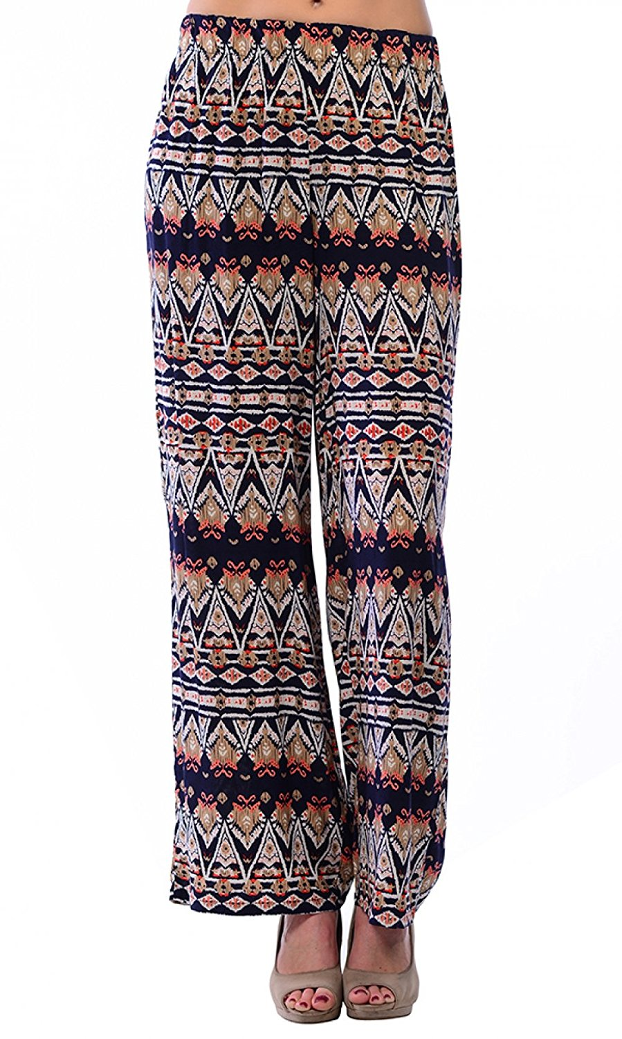 Carapace Womens Womens Tribal Print Long Pants