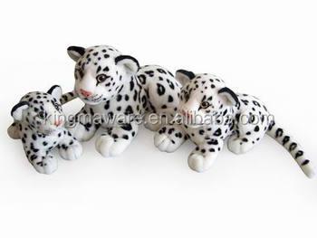 Realistic Plush Snow Leopard Stuffed Animal Snow Leopard Plush Toy