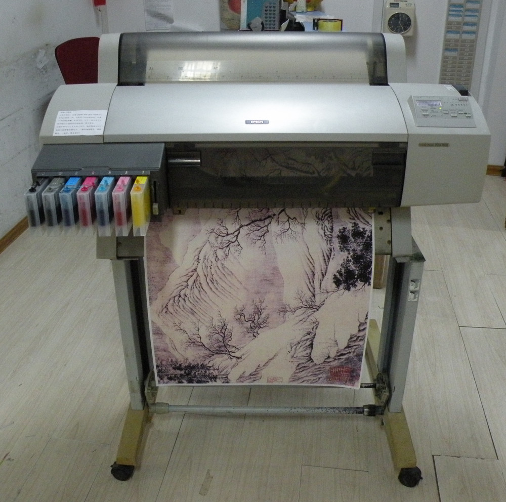 Top Sale! A1 Size Inkjet Printer Second Hand 7600