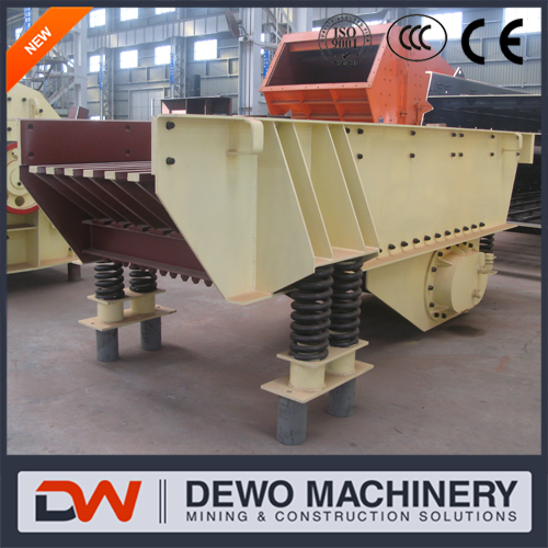 ZSW series vibrating feeder with large capacity and high quality