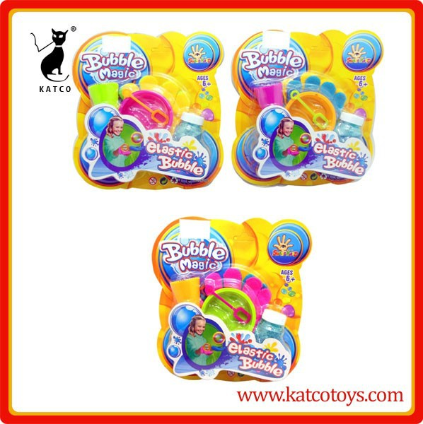 Hot sale juggle bubble set 80ml bubble water bouncing bubbles with glove