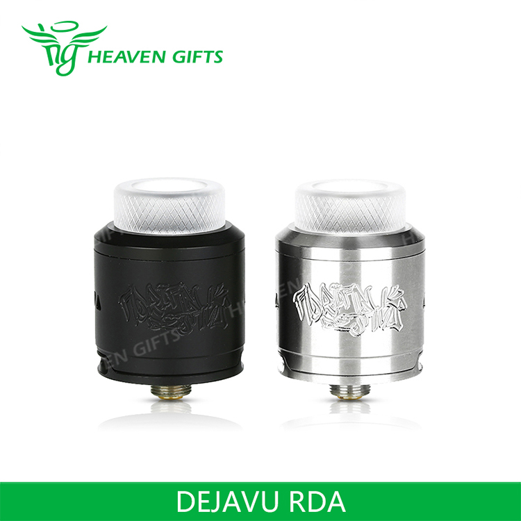 New Released Wholesale DEJAVU Rebuildable Drip Atomizer DJV RDA vapors e cig