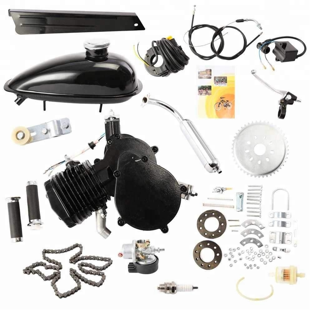 4 stroke 49cc 53cc rear friction drive bicycle engine kit factory directly