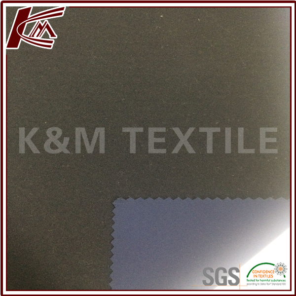 Outdoor Material 85 Nylon 15 Spandex Bonded Lint Brush Fabric