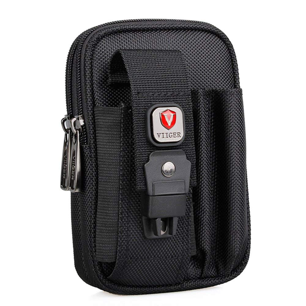 Tactical Molle Universal Multipurpose Capacity Oversize Blowout Pouch EDC Security Gadget Pocket With 6-inch phone Holster