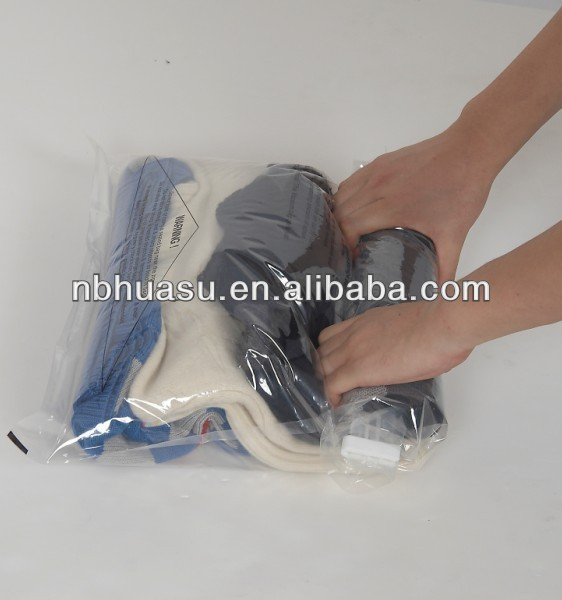 hand rolled vacuum bag perfect for suitcases during travel, business trip and tours
