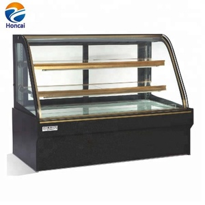 Cake Display Case Upright Glass Cake Showcase On Counter Cooler Freezer Refrigerator