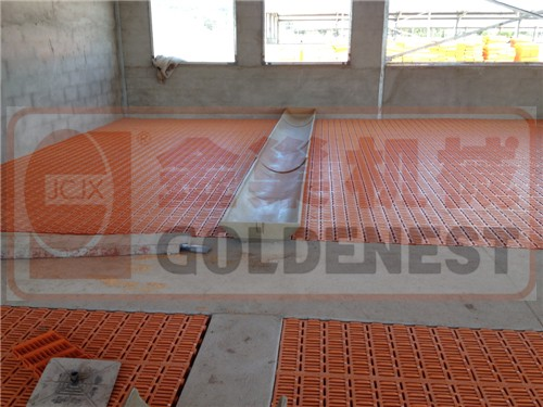 2018 clean farming equipment plastic slat floor for chicken farms/pig farm