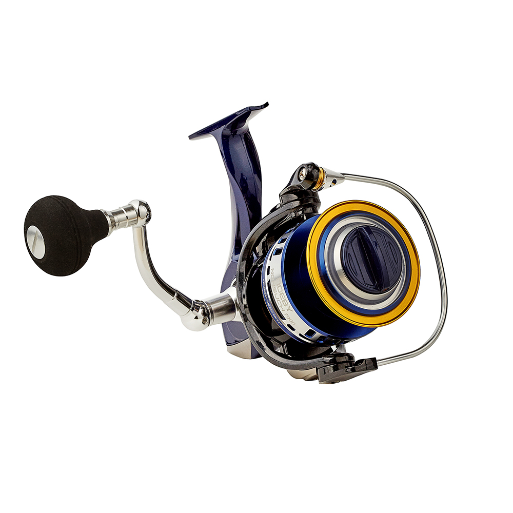 20kg power CNC spool spinning reel, Blue