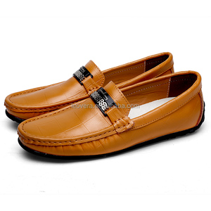 Beyond Fashion Men Loafer Shoes Genuine Leather Shoes