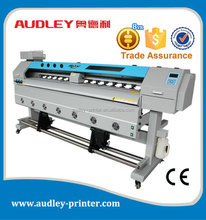 Audley best price dx7 eco solvent roll to roll digital printer with CE/1.8m/1.6m/3.2m