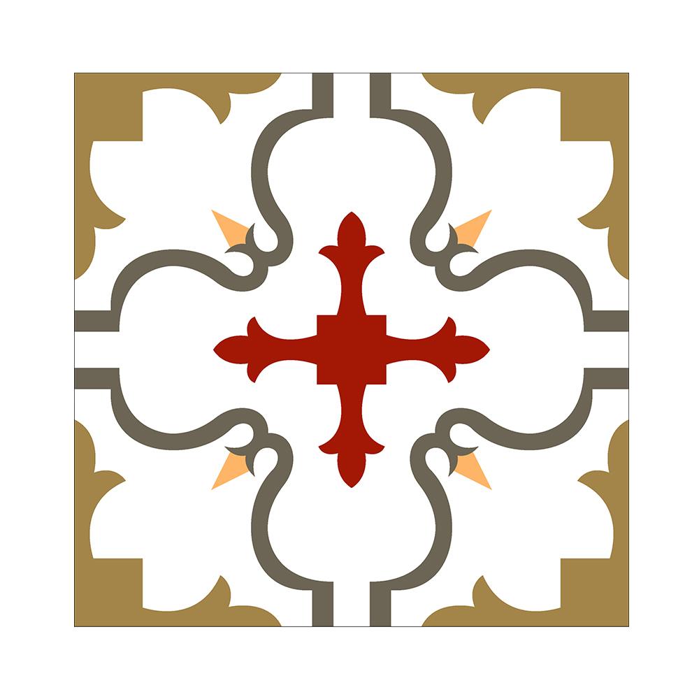 Floor keramische met ontwerp bloem patroon wandtegels