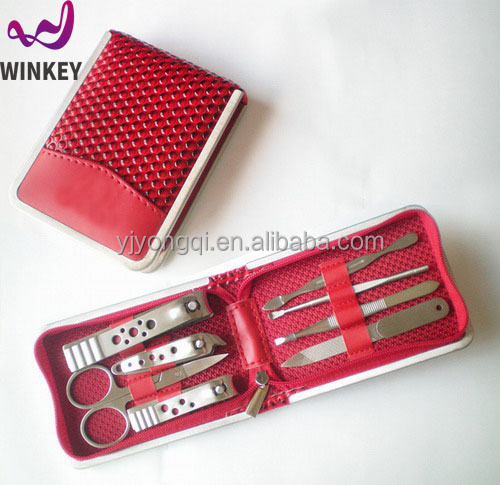 2018 Red colour manicure instruments usa