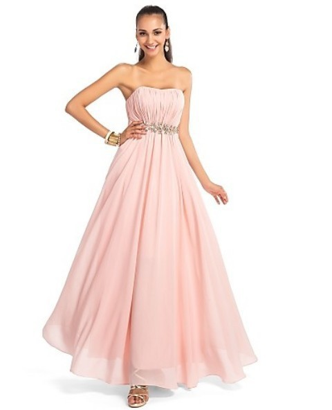 dacfedc2d6720 Get Quotations · 2015 new hot models Bra pink elegant dress A- line skirt  without dragging prom dresses