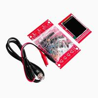 "DSO138 2.4"" TFT Pocket-size Digital Oscilloscope Kit DIY Parts Handheld + Acrylic DIY Case Cover Shell for DSO138"
