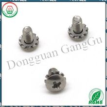 Stainless steel lock washer sems screw