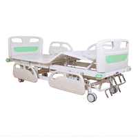 A40 Manual patient bed with ABS Bed Head five-function bed hospital