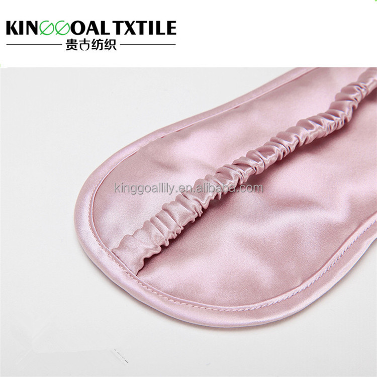 Comfortable and smooth protecting your every sleep 100% silk Novelty sleep eye mask