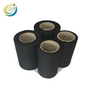 Filter fabric media roll nonwoven activated carbon polyester fabric