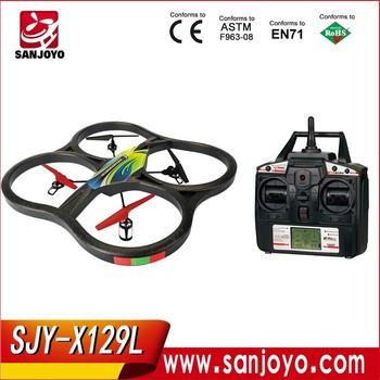 Big Drone SJY X129L Rc W LCD Screen 24G 5CH 360