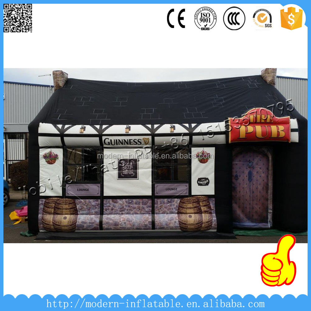 Portable outdoor Inflatable bar pub tent for night club