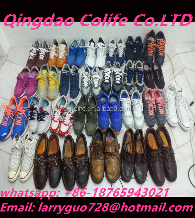 Well sorted used shoes wholesale from usa