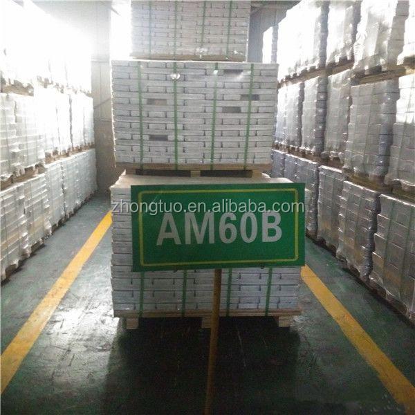 Magnesium Alloy ingot AZ91D AM60B