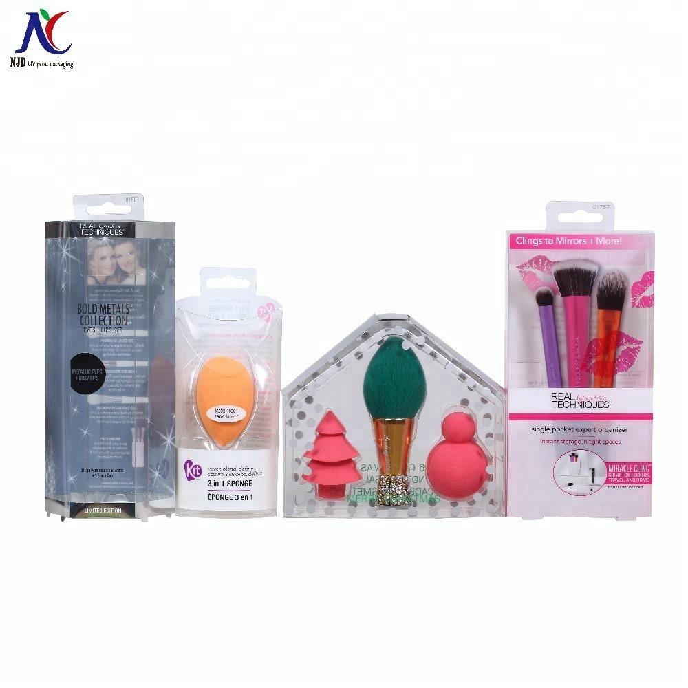 Cosmetics Packaging Box  Pvc Pet box  Folding Box Personal Beauty Packaging