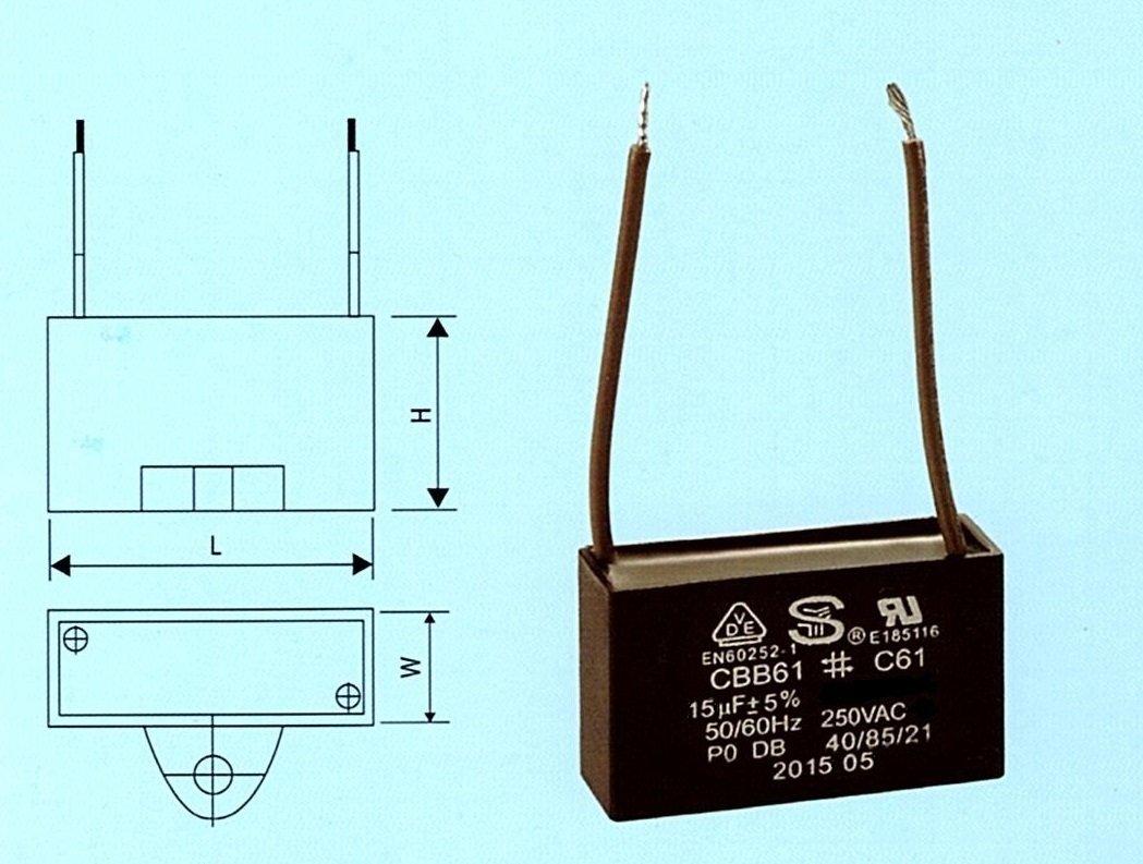Cheap Cbb61 15uf 250vac Ac Motor Run Capacitor, find Cbb61 15uf ...