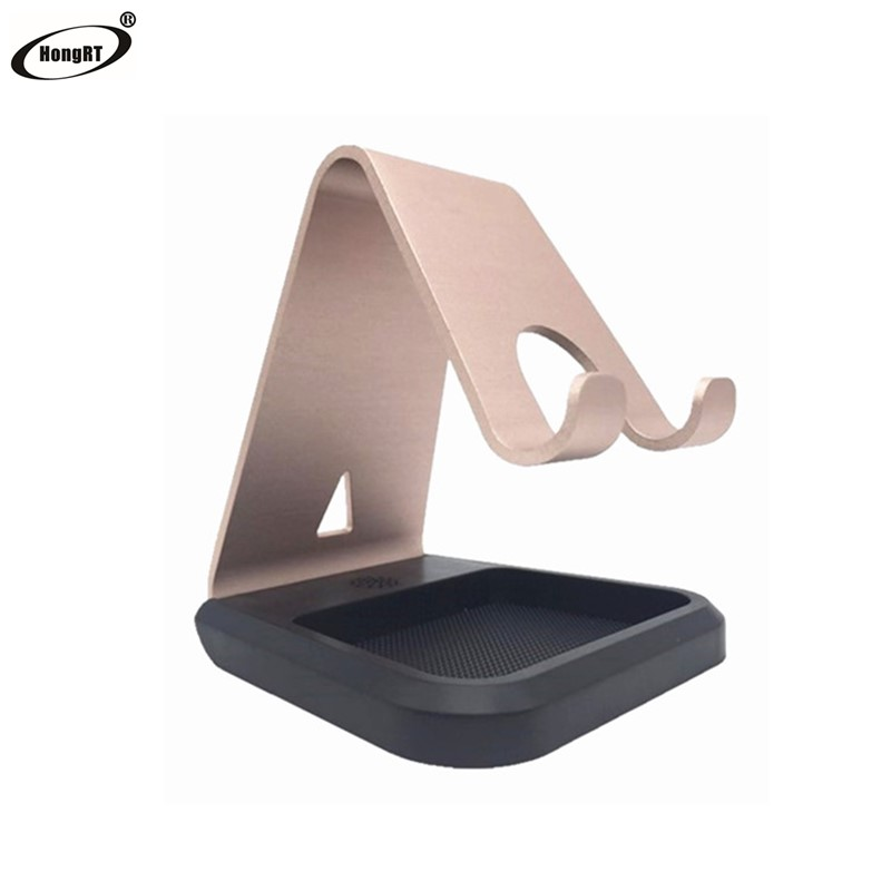 Price of 2017 table aluminum holder for mobile phone