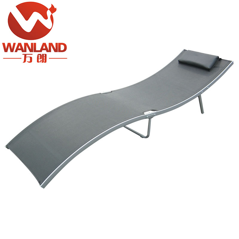 Folding outdoor sling daybed for hot sale