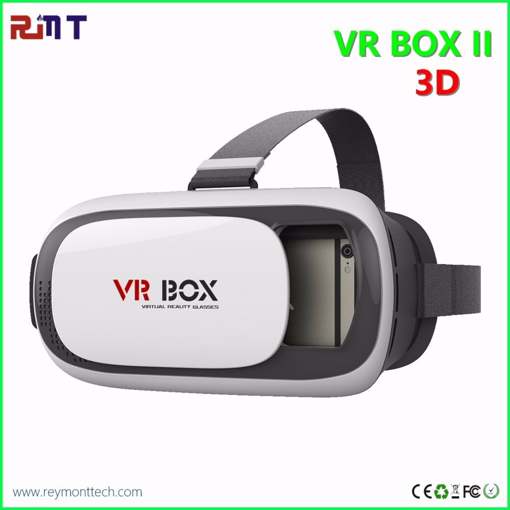 2016 Professional VR BOX 3D Glasses VR Upgraded Version Virtual Reality 3D Video Glasses+ Bluetooth Remote