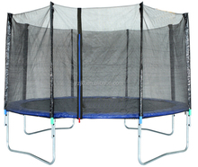 New material professional outdoor bungee trampoline with safety net