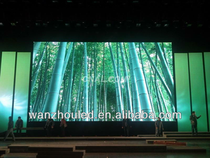 high resolution lower price p20 outdoor full color stage used led curtain display video screen