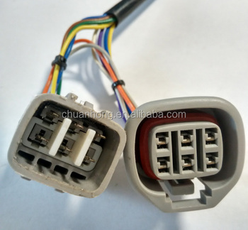 6 pin male and female housing plug or wiring harness pigtail for toyota  90980-11144
